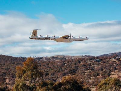 Lebensmittel innerhalb von wenigen Minuten nach Hause liefern lassen? Google-Tochter Wing bietet jetzt Drohnen-Lieferservice