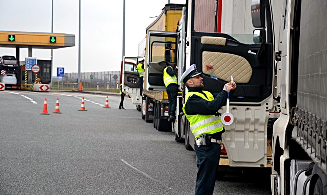Kontrola ITD, ciężarówki, kierowcy