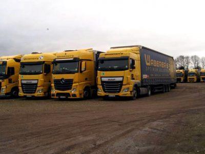 Amendă pentru parcarea ilegală a 200 de camioane Waberer's. Nu transportatorul maghiar este cel care trebuie să plătească