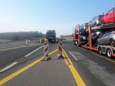 Rusza budowa 16-kilometrowego odcinka A1. Przed kierowcami nowe utrudnienia