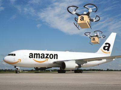 Amazon a intrat pe nișa transportului aerian de mărfuri