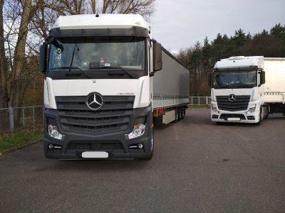 Viena įmonė, du sunkvežimiai, du girti vairuotojai. Taip lietuviai vykdo transportą Europoje