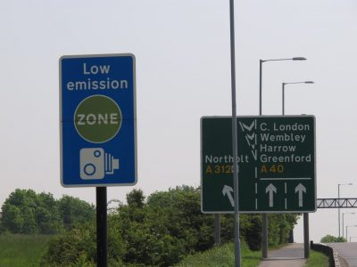 Is it possible to recover money from fines paid in the Low Emission Zone in London?