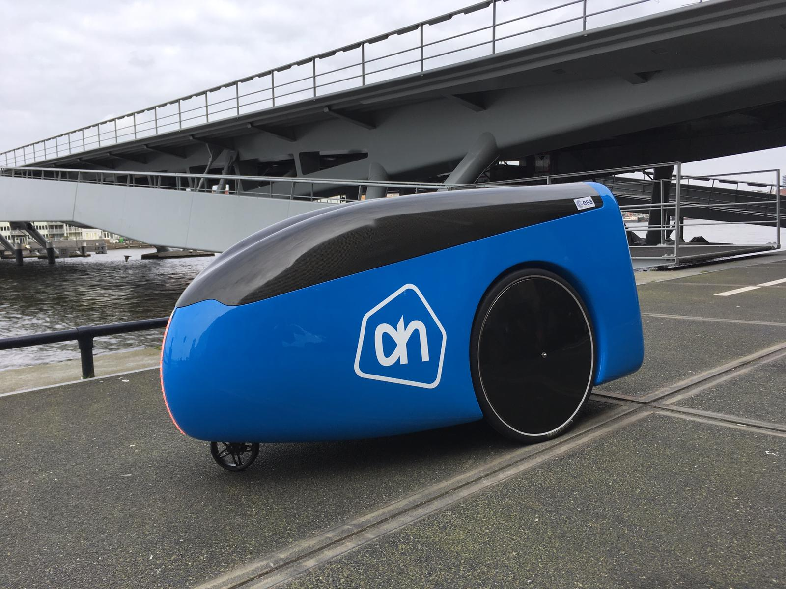 The Dutch are about to test a delivery robot. The vehicle price may come as a surprise.