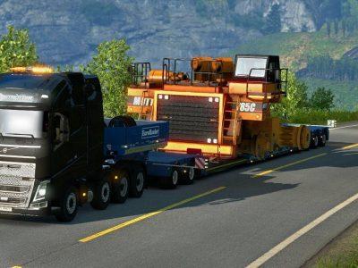 Comisia Europeana investighează reglementările germane privind transporturile agabaritice