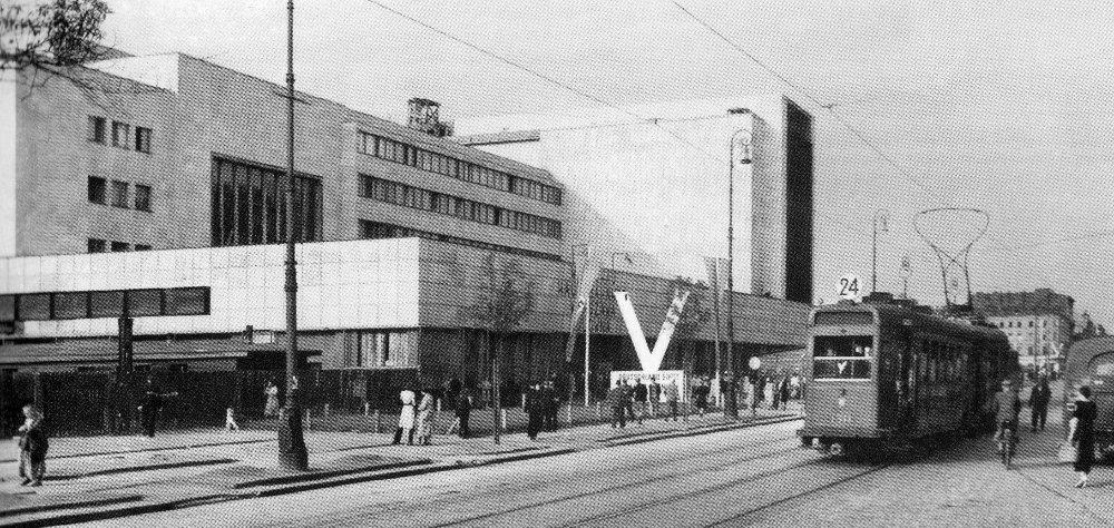 Dworzec Główny w Warszawie, latem 1940 r.