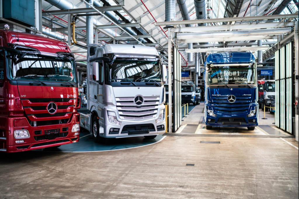 Visit where Actros is born, the largest truck factory in the world