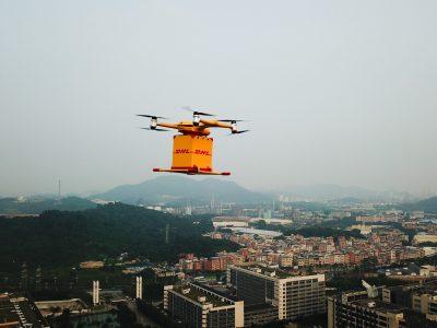 DHL Express startet Drohnen-Lieferservice in China