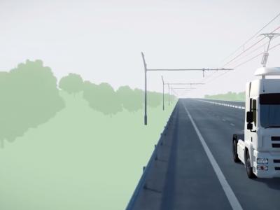 Ciężarówki z pantografami pojawią się na drogach w Hesji. Czy to rozwiązanie ma przyszłość?
