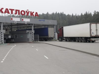 The driver reveals how goods banned by embargo are transported to Russia