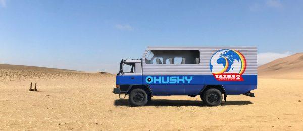 Niecodzienny pomysł Czechów. W trzy lata chcą przejechać ciężarówką dookoła świata