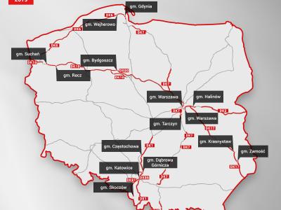 Польша. Где полиция чаще всего контролирует скорость? Список дорог