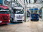 Megkezdődött az Actros legújabb generációjának sorozatgyártása. A tükör nélküli teherautók hamarosan útra kelnek