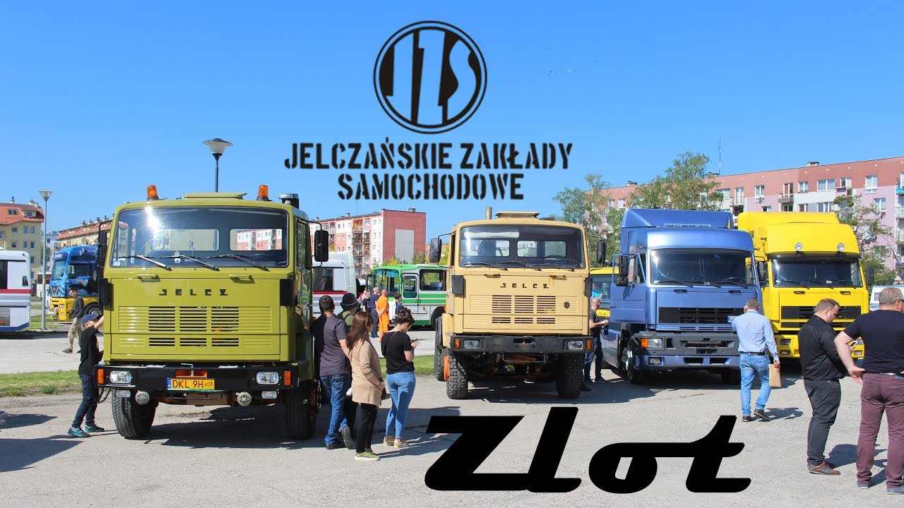 Legendarne polskie ciężarówki znów w jednym miejscu. Zobacz, co działo się na zlocie Jelcza