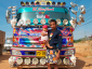 A French photographer has always loved trucks. He has been immortalising truckers in various parts of the world for years.