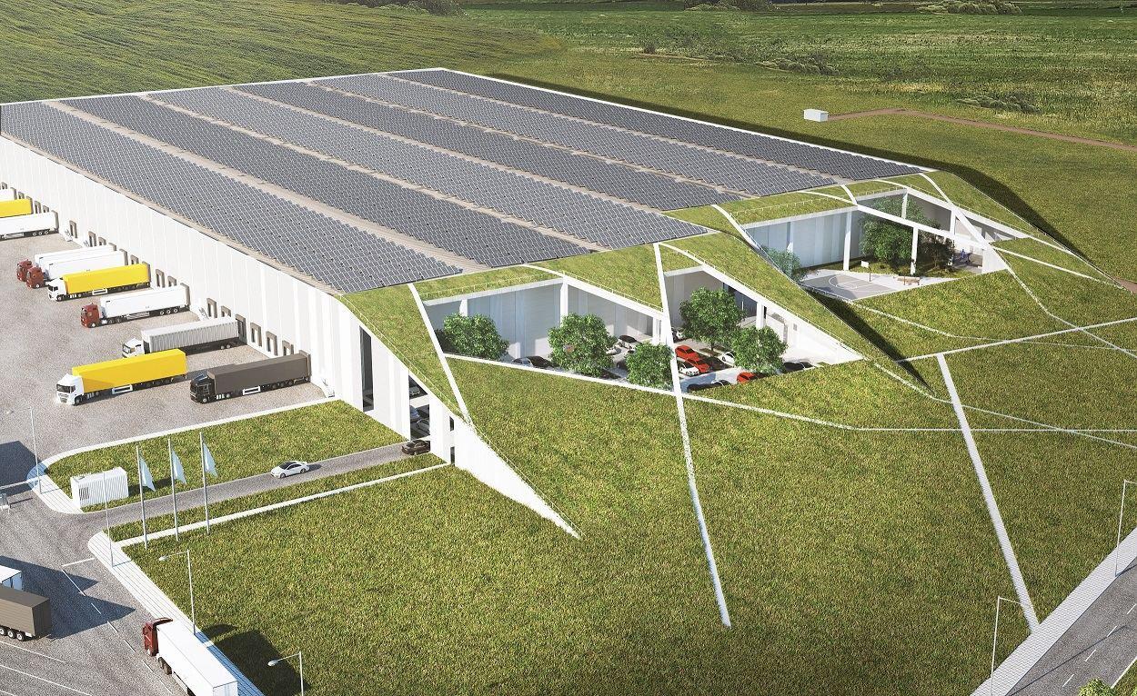 """SBA grupė investuoja į naują logistikos centrą už 18 mln. Eur Logistikos centras padės SBA baldų sektoriaus įmonėms, gaminančioms produktus Švedijos koncernui IKEA, efektyviau organizuoti tiekimo grandinę, tačiau juo galės naudotis ir kiti šalies baldų gamintojai. Logistikos centro operatoriumi bus SBA grupės įmonė """"Innovo logistika"""". Investicijos į 30 tūkst. kv. m logistikos centrą – apie 18 mln. Eur. (SBA nuotr.)."""