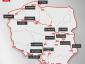 Lenkija. Kur policija dažniausiai tikrina greitį? Pateikiame kelių ir ruožų sąrašą