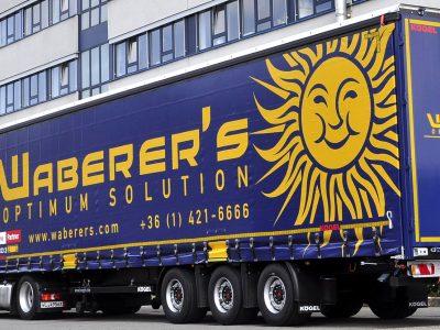 """""""Waberer's"""" vis dar krizėje. Bendrovė atsikratė daugiau nei 200 sunkvežimių"""