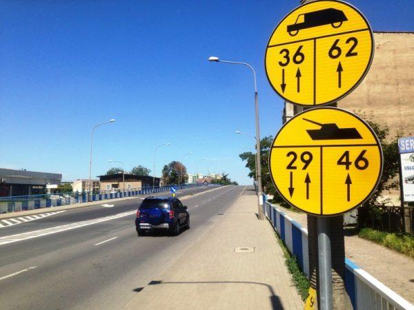Od dziś do 16. czerwca wybrane mosty na drogach krajowych będą oznakowane dodatkowymi znakami dla ki