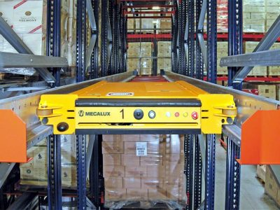 See what benefits the Pallet Shuttle system can bring to your warehouse. Logistics 4.0 in practice.