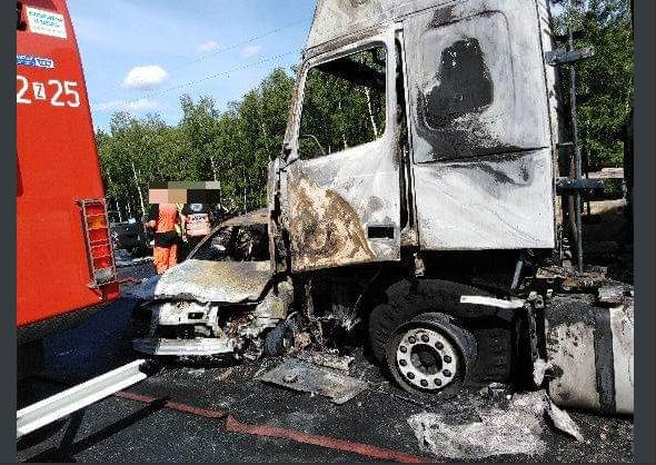 Surowy wyrok dla kierowcy ciężarówki. Spowodował karambol, w którym zginęło sześć osób