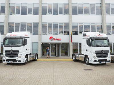 Компания Girteka вложит почти миллион евро в алгоритм управления своими грузовиками. Для чего она это делает?