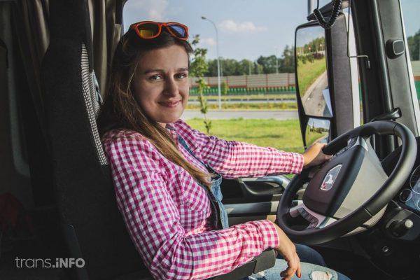 Prowadzenie ciężarówek jest dla kobiet za trudne – według białoruskiego prawa. Czy to się zmieni?