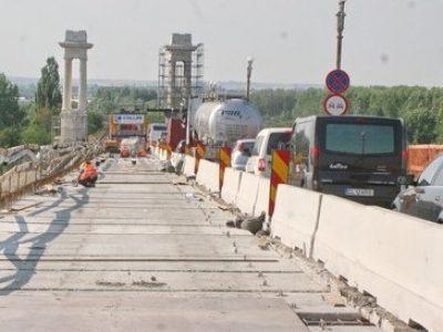 Restricții de circulație pe podul Giurgiu-Ruse până la 24 iulie