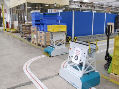 Logistyka 4.0 w praktyce. LubSys rozwija autonomiczny transport. Ma być szybciej i wydajniej