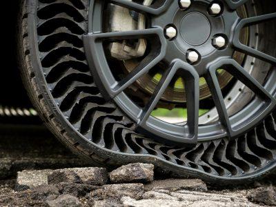 Устойчивые к проколам шины? Это возможно. Французский производитель планирует начать тестирование своего изобретения