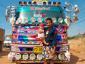 Prancūzų fotografas visą gyvenimą myli sunkvežimius. Jau daugelį metų jis įvairiose pasaulio vietose įamžiną sunkvežimių vairuotojus