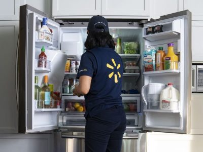 Walmart delivers your shopping straight into your fridge