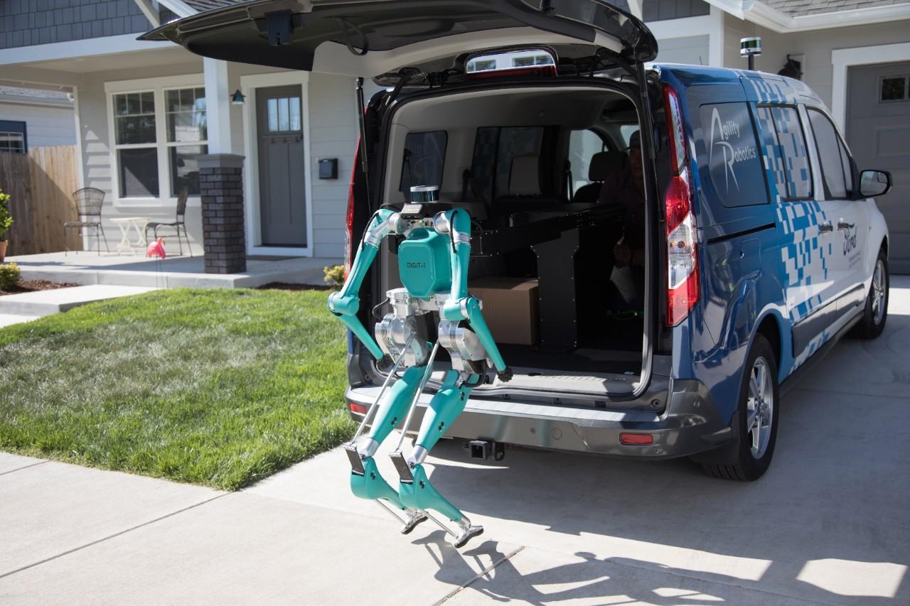 Ford lucrează la o soluție inovativă pentru livrările last mile