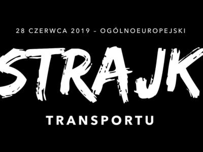 """Prasidėjo visuotinis transporto streikas. Lenkijos ekspeditoriai ir vairuotojai kovoja už pokyčius """"Mobilumo pakete"""""""