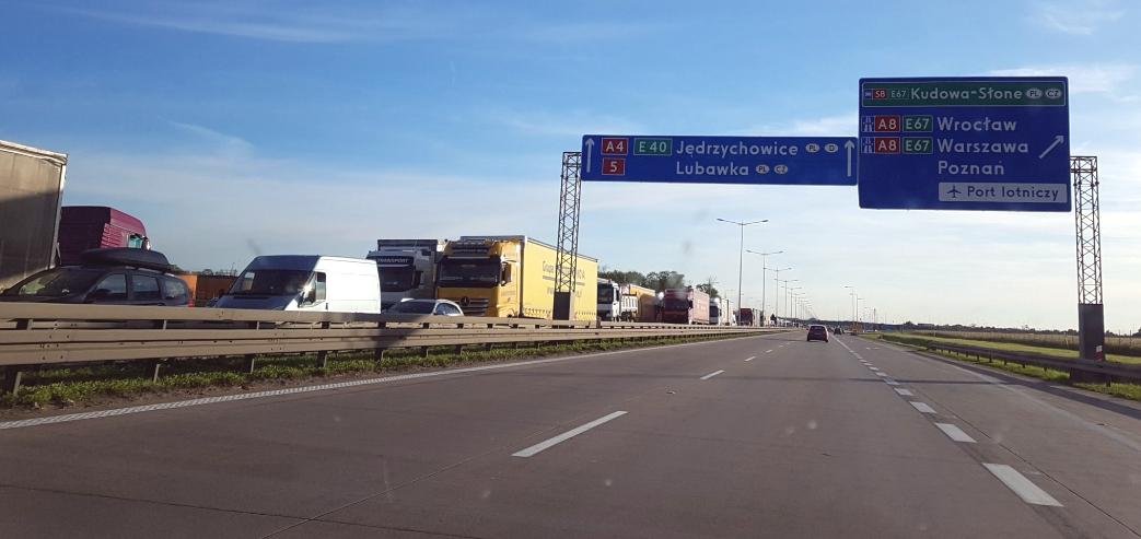 We wtorek następny etap remontu A4 pod Wrocławiem