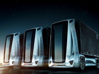 Gruzowikus – bezzałogowa, elektryczna, samoczyszcząca się ciężarówka z Rosji