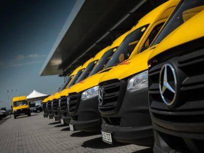 DHL își mărește flota cu 118 unități Mercedes-Benz Sprinter