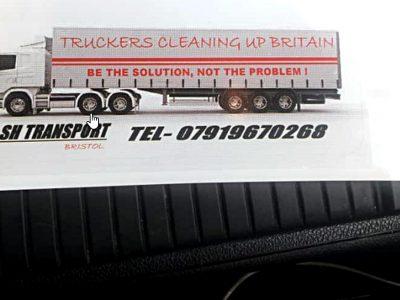 Brytyjscy kierowcy ciężarówek łączą siły w słusznej sprawie. Wszyscy powinniśmy wziąć z nich przykład