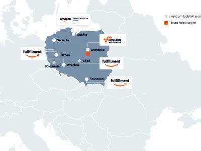 Amazon już rekrutuje do nowego hubu w Polsce. Zacznie działać pod koniec roku, ale na razie firmę trapią strajki