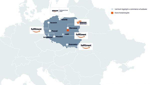 Amazon już rekrutuje do nowego hubu w Polsce. Zacznie działać pod koniec roku, ale na razie firmę tr