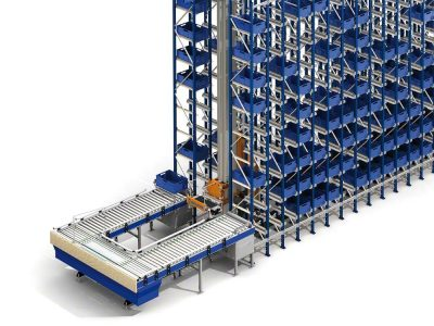 See what benefits a container warehouse can bring. Logistics 4.0 in practice.