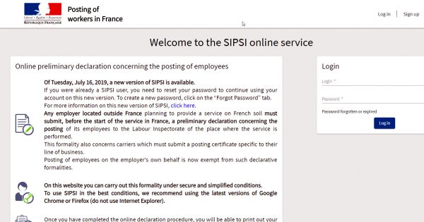 The SIPSI system is active but with serious errors! See how to overcome them.