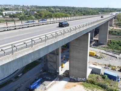 Germania: Sancțiuni severe pentru șoferii care nu respectă interdicțiile de circulație pe podul Salzbachtalbrücke