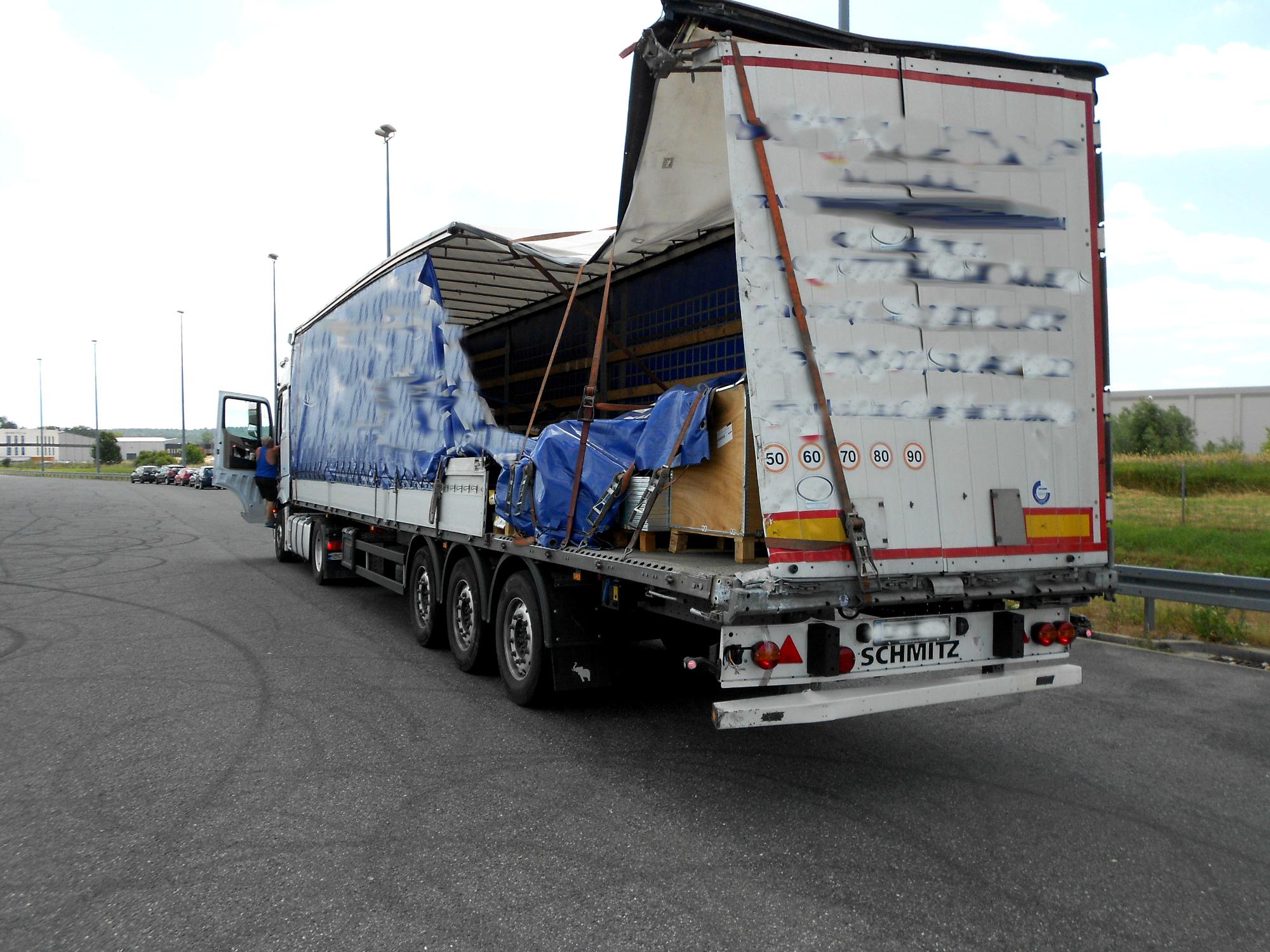 Neglijența în transporturile rutiere vă poate costa foarte scump