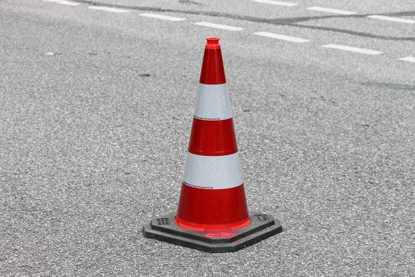 Ogromny korek na obwodnicy Wrocławia po zderzeniu się ciężarówek