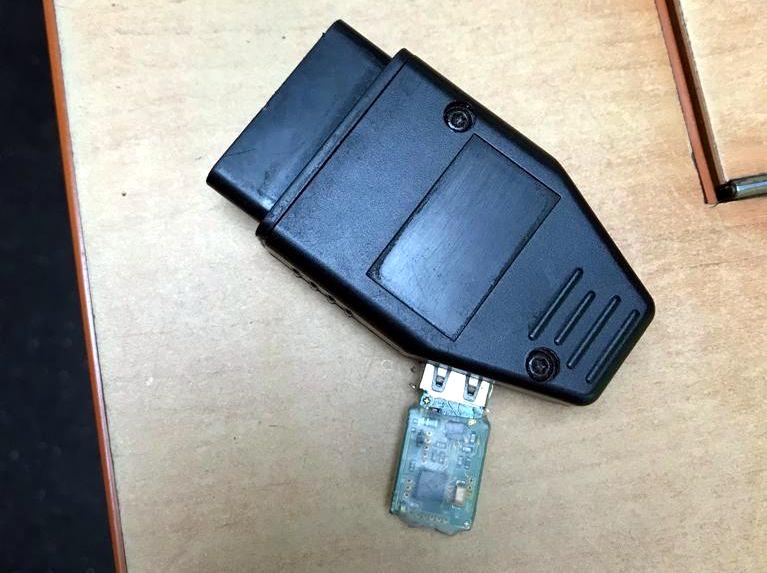 nowa metoda manipolowania tachografu, USB, gniazdo diagnostyczne