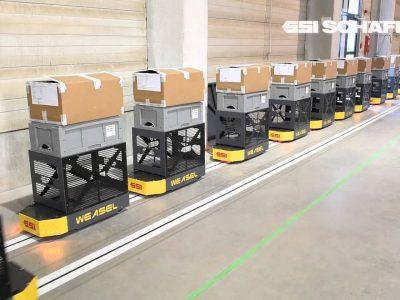 Logistyka 4.0 w praktyce. Case study: Automatyzacja transportu wewnętrznego w Bachmann Forming