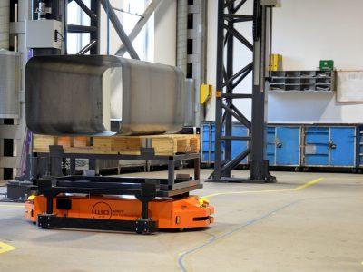 Logistyka 4.0 w praktyce. Jak MOBOT usprawnił transport w NucAir?