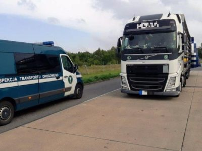 Carrier faces a fine of 2000 euros for handing over a wrong GPS tracker during a roadside control.