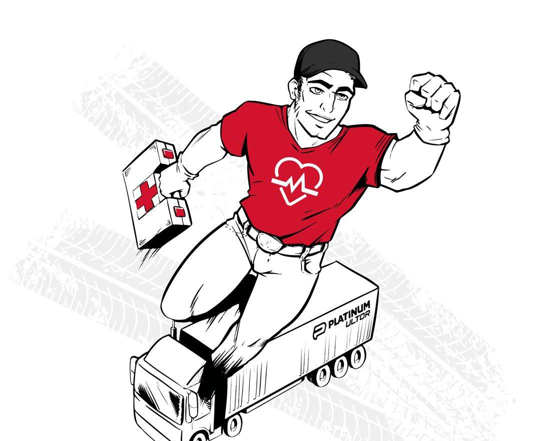 Fundacja Truckers Life szuka bohaterów. Namawia kierowców zawodowych do nauki udzielania pierwszej pomocy